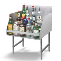 Advance Tabco Liquor Display Racks