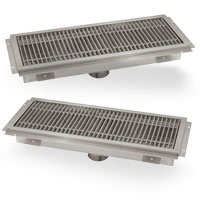 Advance Tabco Floor Troughs