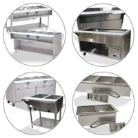 Advance Tabco Hot/Cold Food Tables