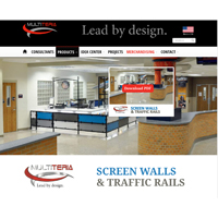 Multiteria Screen Walls and Traffic Rails