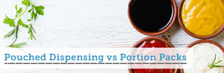 Pouched Dispensing vs Portion Packs