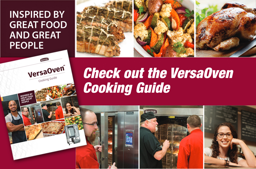 Baxter Versa Cooking Guide