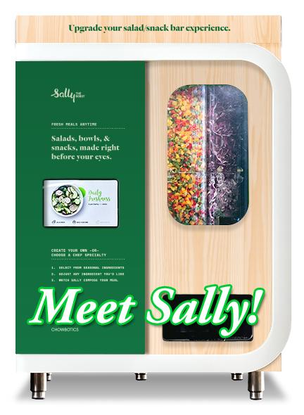 Chowbotics - Sally the Robot