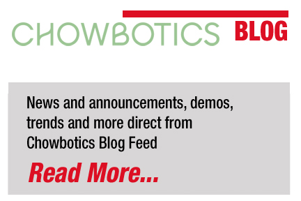 Chowbotics Blog Feed
