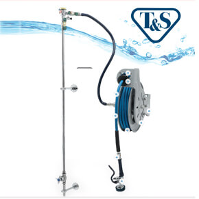 T&S Hose Reel systems