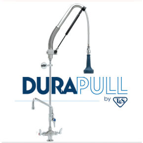 DuraPull Pre-Rinse Units by T&S Brass
